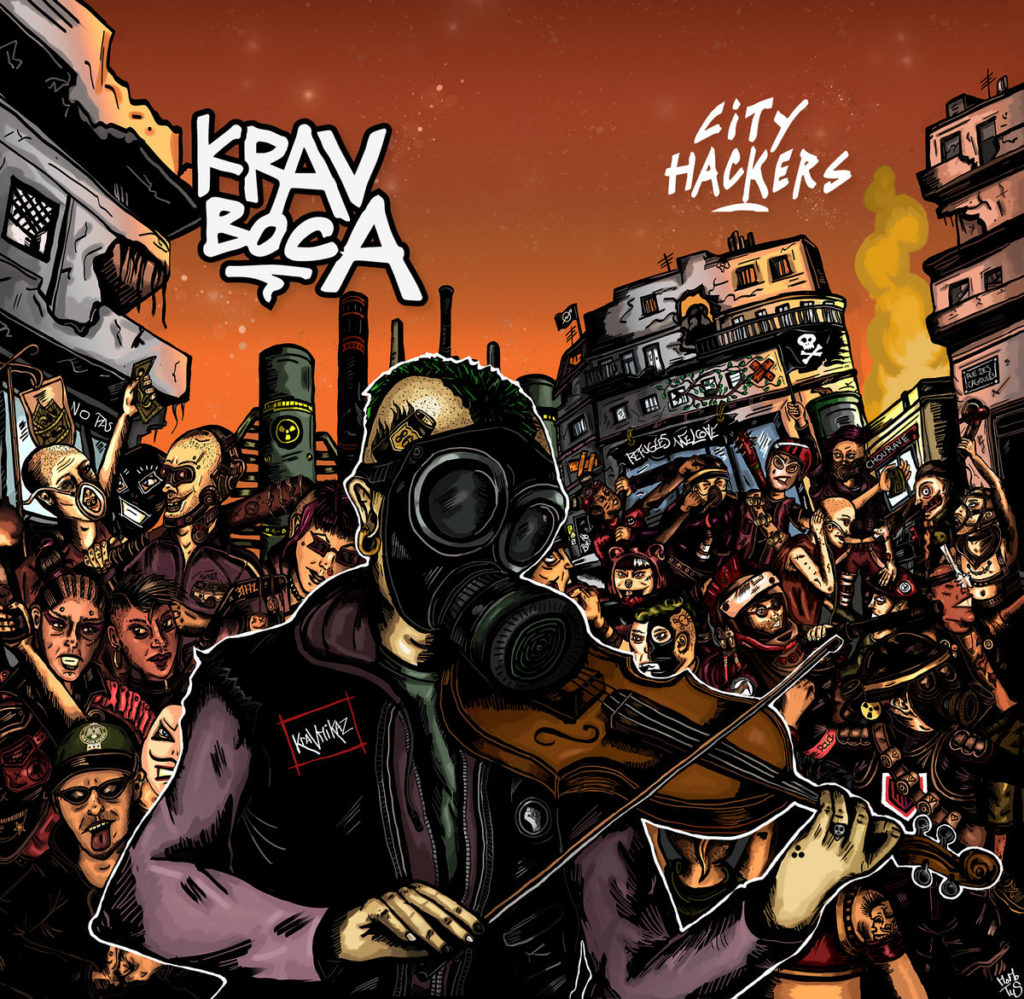 Cover recto album City Hackers