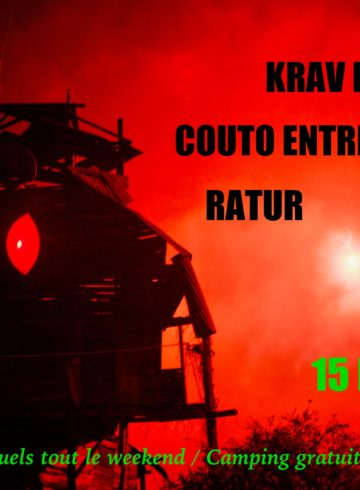 Affiche Krav Boca Ratur Coutoentrelesdents NDDL